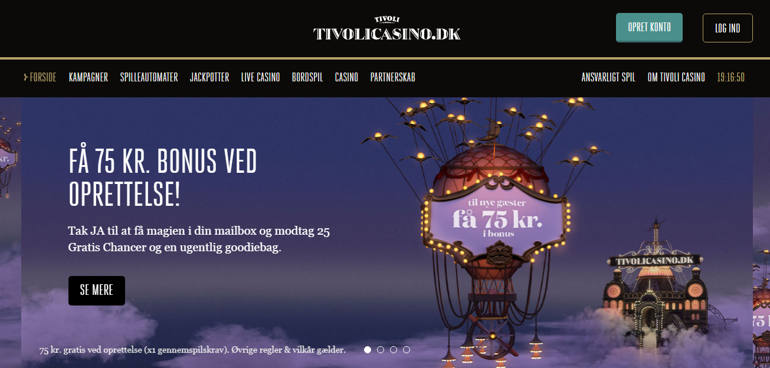 Tivoli Casino Fejl 2